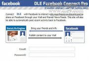������ DLE Facebook Connect Pro ����������� �� ����� � Facebook