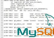 Хак DLE Mysql differences tables