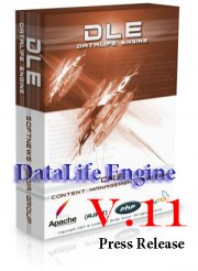 DataLife Engine v.11 DLE 11 Press Release