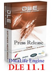 DLE 11.1 DataLife Engine v.11.1 Press Release