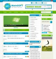 Шаблон MainSOFT для DLE 13.1 (тема программы Microsoft)